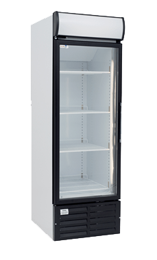 one door glass commercial fridge small MPM120HD-L