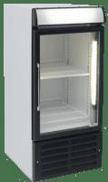 small single glass door commercial fridge MPM108HD-L