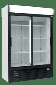 glass two door commercial fridge MPM1360SD