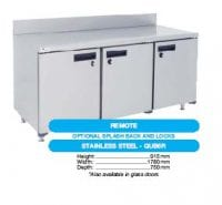 stainless steel fridge model QUB6R