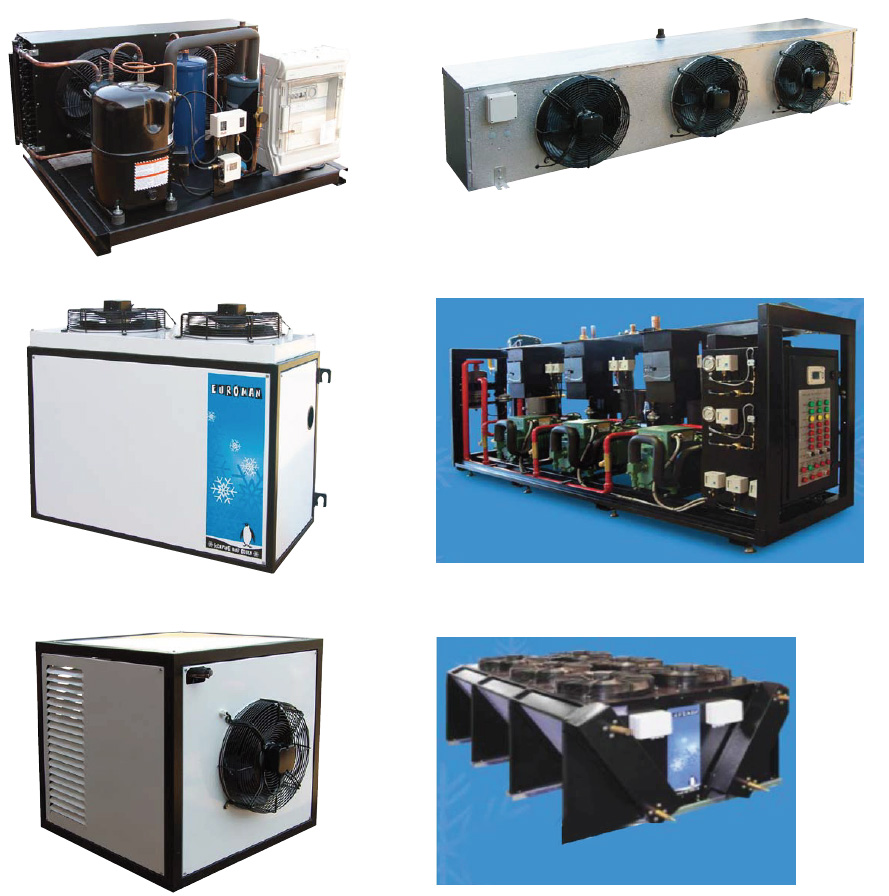 different euroman refrigeration parts