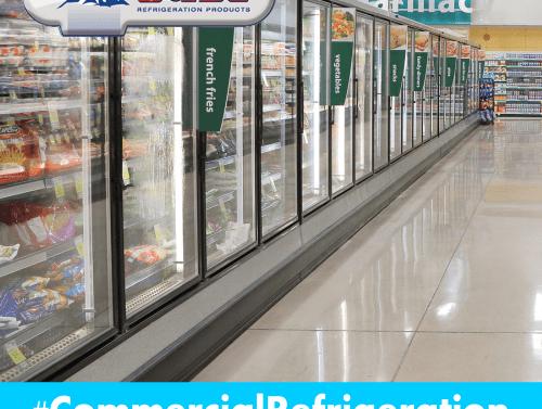 different commercial fridges