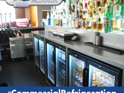 behind the bar fridge types