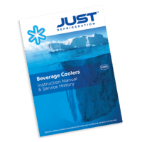 Beverage cooler instruction manual and service history