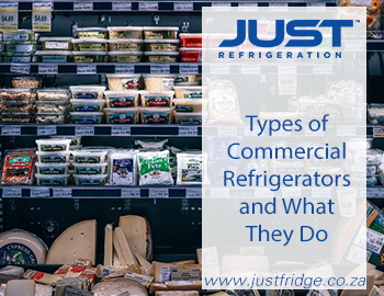 Food Items in Commercial Refrigerator