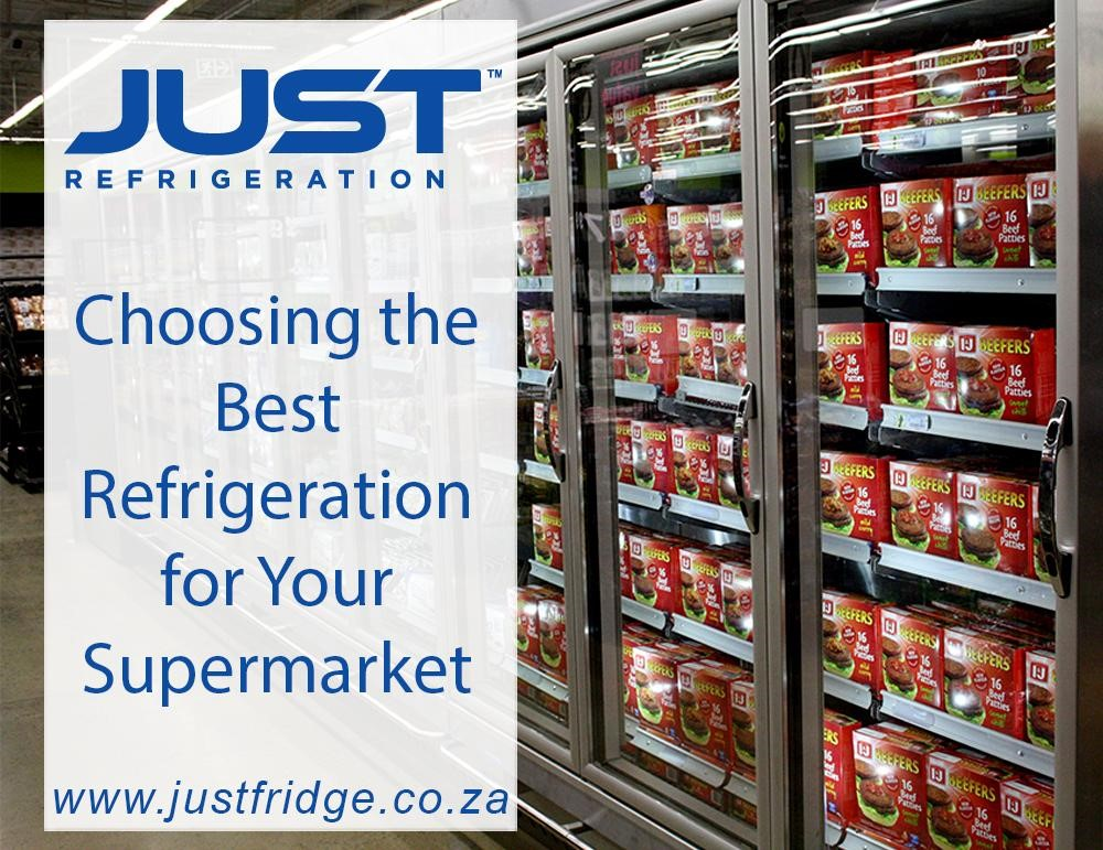 a fully-stocked commercial refrigerator