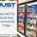 commercial fridges stocked with frozen food