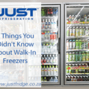 Commercial Fridge stocked with beverages